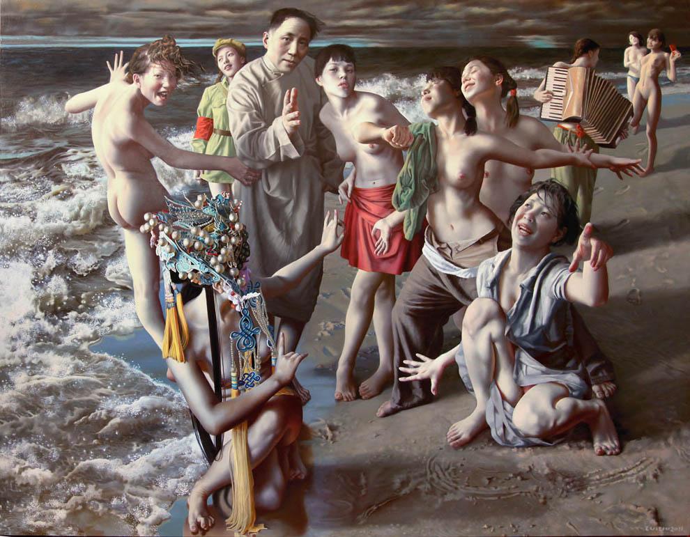 Eróticas Surrealistas de Lui Liu